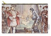 Bayard Presented To Henry Viii Carry-all Pouch