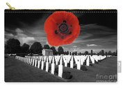Bayeaux Cemetry  Carry-all Pouch