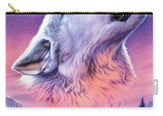 Baying To The Moon Carry-all Pouch