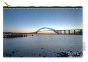 Bayonne Bridge Longe Exposure Sunset Carry-all Pouch