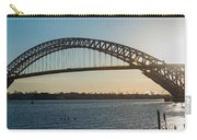 Bayonne Bridge Panoram Sunset Carry-all Pouch