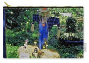 Bayou Crow Scarecrow At Bellingrath Gardens Carry-all Pouch