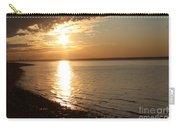 Bayville Sunset Carry-all Pouch by John Telfer