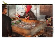 Bazaar - I Sell Fish  Carry-all Pouch by Mike Savad