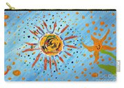 Be Like The Sun Carry-all Pouch