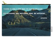 Be Something Carry-all Pouch
