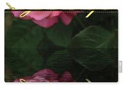 Be True To Yourself Rose Reflection Carry-all Pouch