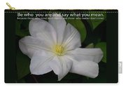 Be Who You Are Carry-all Pouch