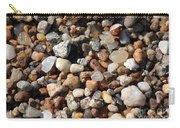 Beach Agates Carry-all Pouch by Carol Groenen