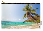 Beach And Palm Tree Carry-all Pouch