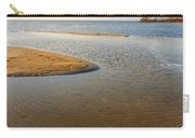 Beach And Rippled Water At The Wadden Sea. Carry-all Pouch