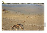 Beach And Rippled Water. Carry-all Pouch