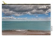 Beach And Ships. Carry-all Pouch