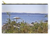 Beach At Maury Island Carry-all Pouch
