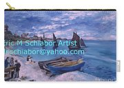 Beach At Saint Address Carry-all Pouch