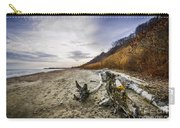 Beach At Scarborough Bluffs Carry-all Pouch by Elena Elisseeva