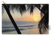 Beach At Sunset 5 Carry-all Pouch