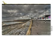 Beach At Westward Ho Carry-all Pouch