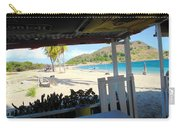 Beach Bar In January Carry-all Pouch