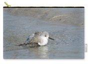 Beach Bird Bath 5 Carry-all Pouch