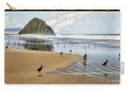 Beach Birds Impasto Carry-all Pouch