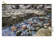 Beach Brook At Scarborough Bluffs Carry-all Pouch by Elena Elisseeva