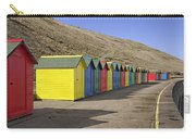 Beach Chalets - Whitby Carry-all Pouch