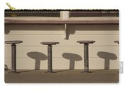 Beach Diner Stools Carry-all Pouch