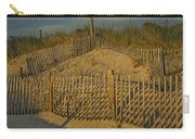 Beach Fence Carry-all Pouch by Susan Candelario