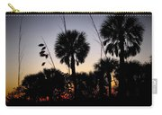 Beach Foliage At Sunset Carry-all Pouch