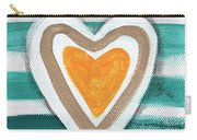 Beach Glass Hearts Carry-all Pouch