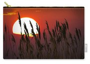 Beach Grass At Sunset Carry-all Pouch