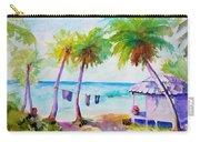 Beach House Tropical Paradise Carry-all Pouch