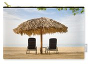 Beach Hut For Two Carry-all Pouch