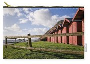 Beach Huts At Branscombe Carry-all Pouch