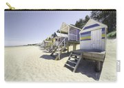 Beach Huts At Wells Carry-all Pouch