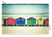 Beach Huts Muizenberg Retro Carry-all Pouch