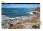 Beach In Resort Town Of Estoril Carry-all Pouch