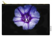 Beach Morning Glory Purple Carry-all Pouch