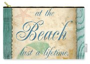 Beach Notes-a Carry-all Pouch
