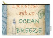 Beach Notes-c Carry-all Pouch by Jean Plout