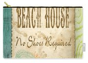 Beach Notes-d Carry-all Pouch by Jean Plout