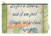 Beach Notes-e Carry-all Pouch