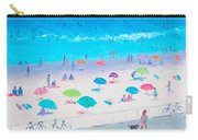 Beach Painting - Happy Days Carry-all Pouch