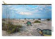 Beach Pals Carry-all Pouch by Betsy Knapp