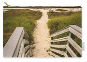 Beach Path Carry-all Pouch by Adam Romanowicz