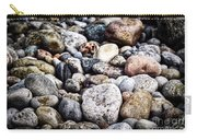 Beach Pebbles  Carry-all Pouch by Elena Elisseeva