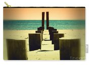 Beach Pylons Carry-all Pouch