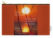Beach Quote Carry-all Pouch