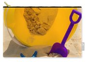 Beach Sand Pail And Shovel Carry-all Pouch